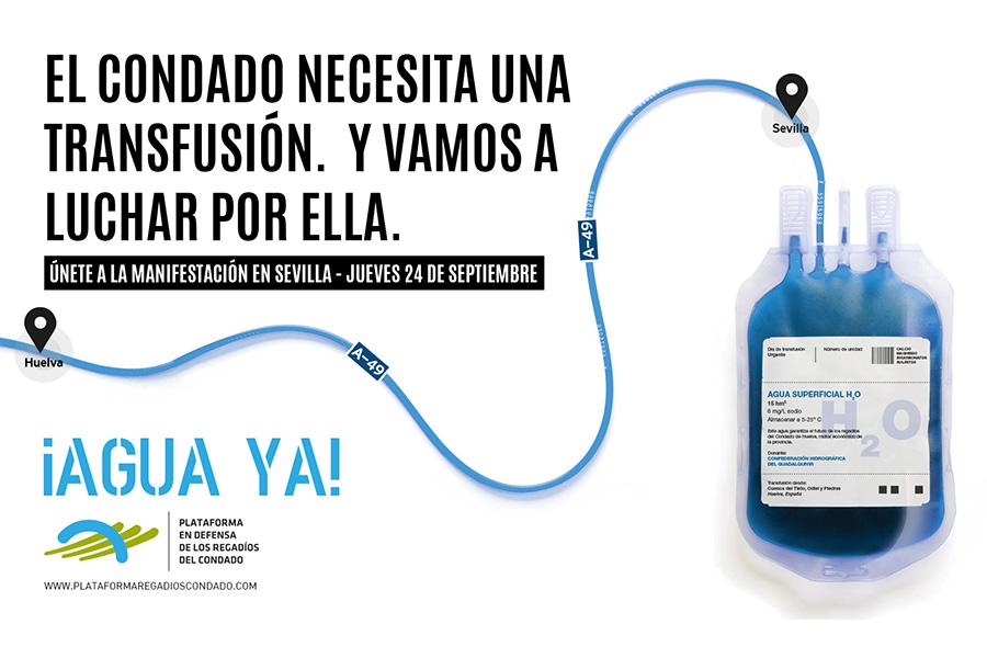 Grufesa cerrará sus instalaciones para exigir en Sevilla la transferencia de 15 hm3 de agua