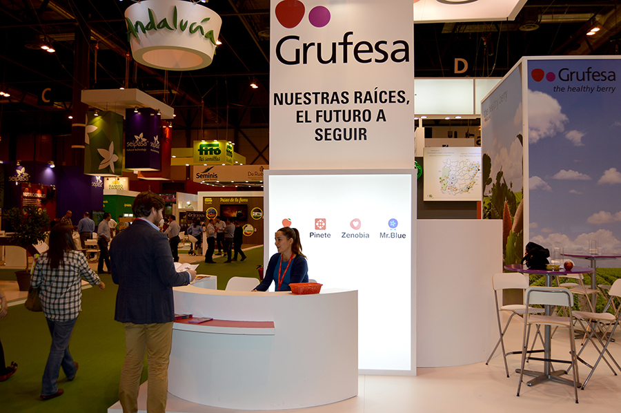 Grufesa destaca el interés de los asistentes a Fruit Attraction por la producción sostenible