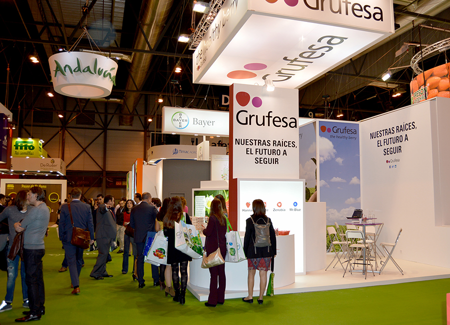 Grufesa presenta en Fruit Attraction que lanzará al mercado arándanos 'Mr.Blue'