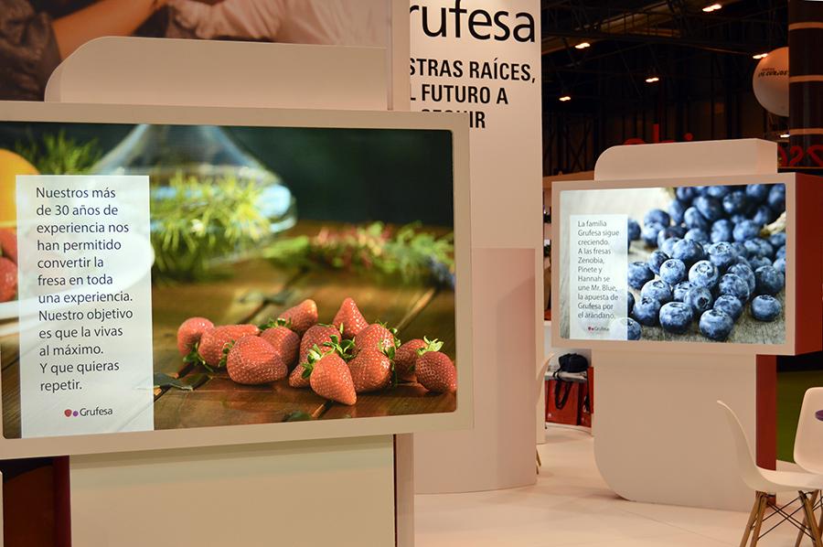 Grufesa muestra en Fruit Attraction su apuesta por las variedades andaluzas de fresa