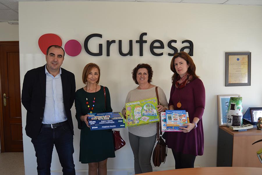 Grufesa apoya el trabajo de Puerta Abierta con los niños en riesgo de exclusión social