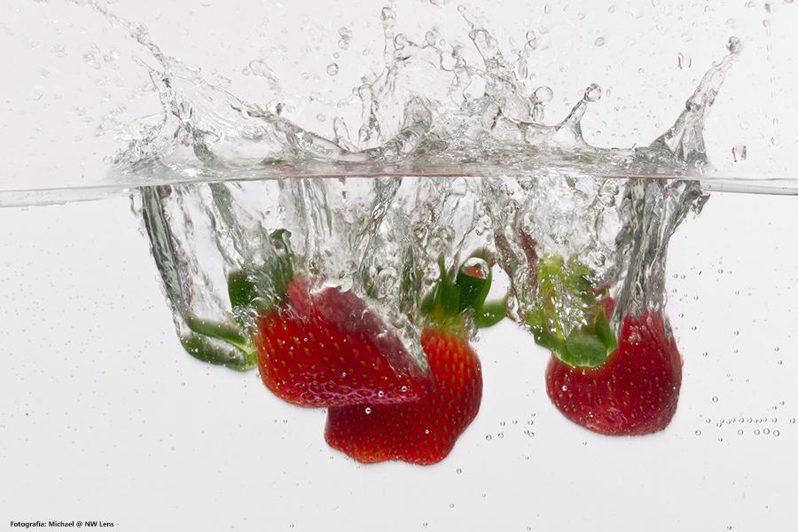 ¡Qué calor! Come fresas y mantente hidratado