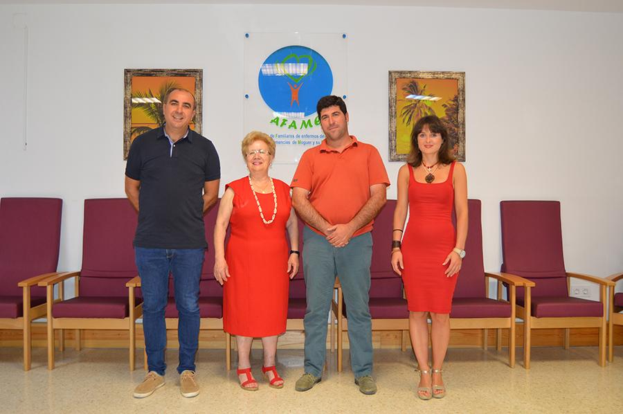 Grufesa colabora con Afame en el mantenimiento del servicio de transporte para enfermos de Alzheimer