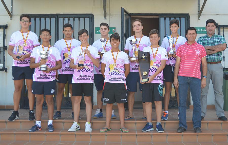 Lacasitos Beach PAN Moguer comparte con Grufesa su título de campeón de España