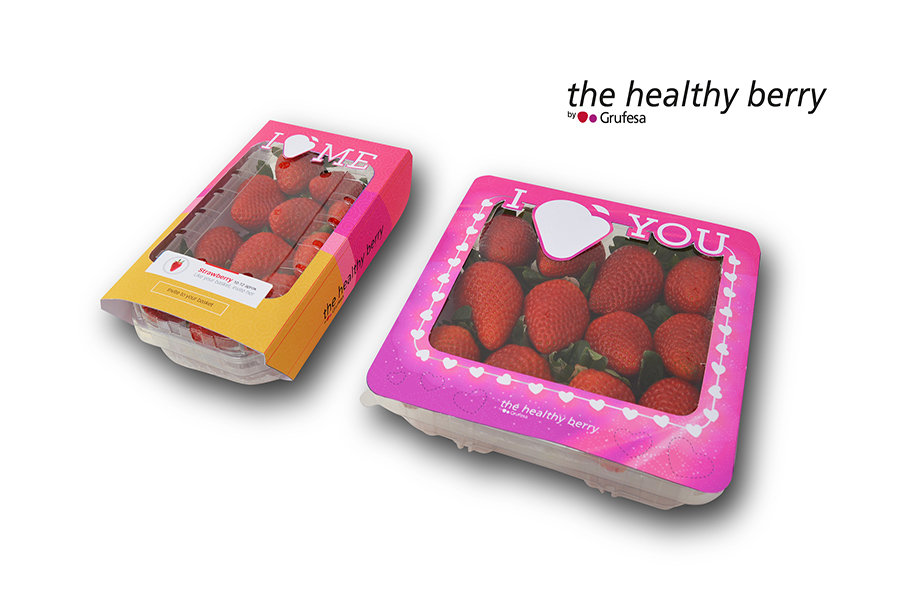 Grufesa launches a new edition of its special packaging to celebrate Valentine's Day