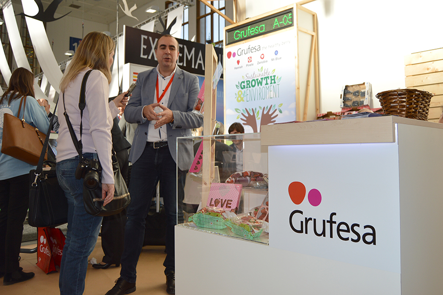 Grufesa exhibe en Fruit Logistica sus nuevos hitos en la renovación de su compromiso de innovación y sostenibilidad