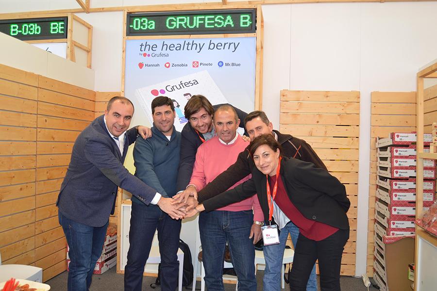 El respaldo de Fruit Logistica avala el modelo de sostenibilidad de Grufesa que la ha situado a la vanguardia del sector como experta en fresas