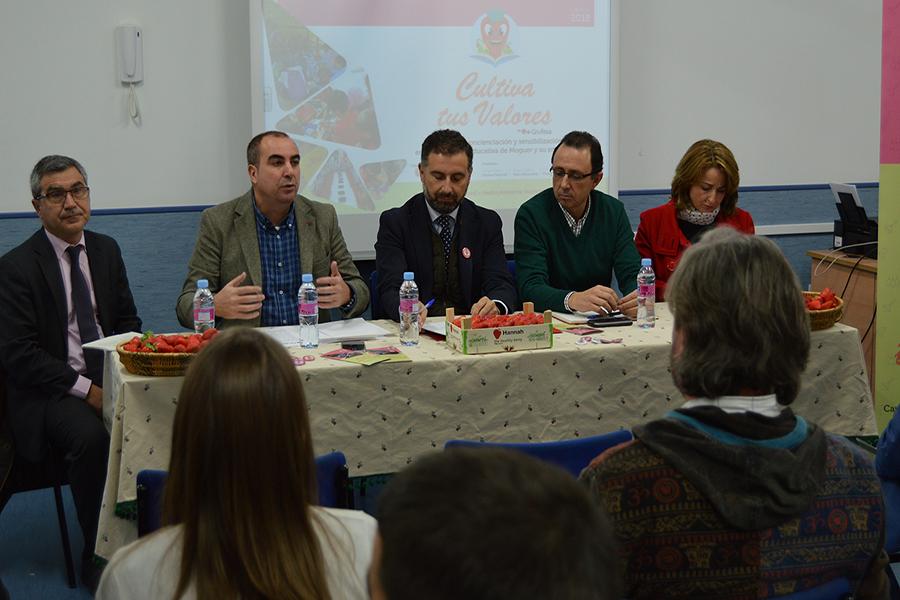 Grufesa consolida la campaña de concienciación educativa 'Cultiva tus valores' en Moguer y su entorno con su segunda edición