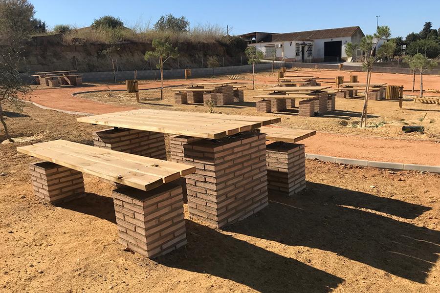 Grufesa sufraga la construcción de una zona recreativa con merendero junto a su sede social
