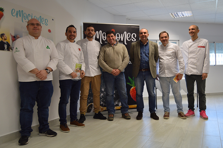 'Emociones by Grufesa' combines berries and products from Huelva to create culinary experiences and share emotions