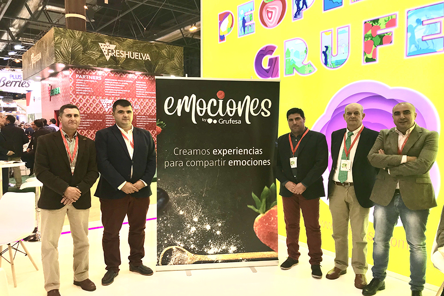 La campaña 'Emociones by Grufesa' marida frutos rojos y materias primas de Huelva para crear experiencias gastronómicas y compartir emociones