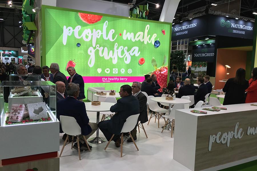 Grufesa refuerza en Fruit Attraction la humanización de una producción sostenible y la experiencia de compra de su modelo empresarial