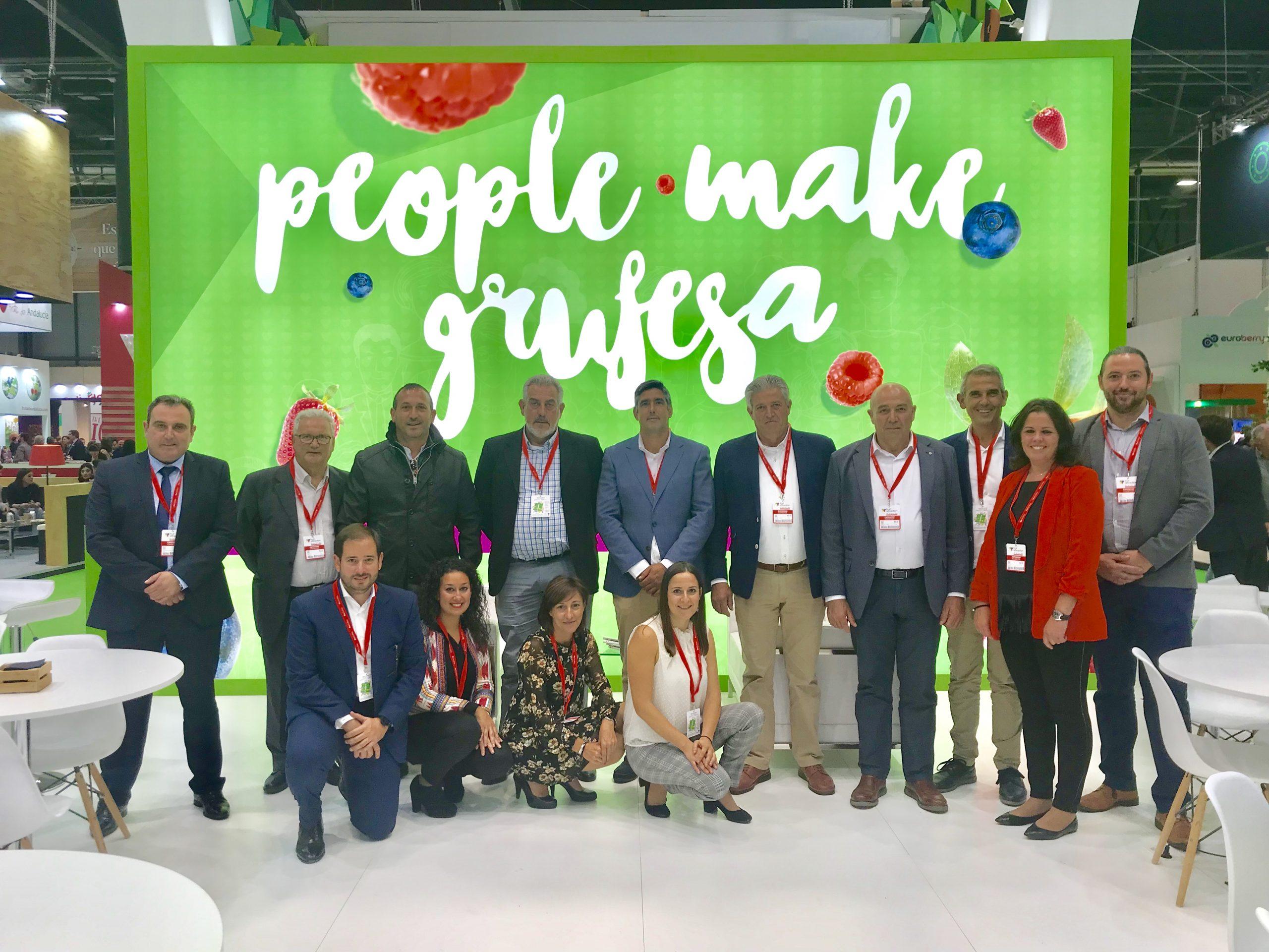 Las claves de su modelo 'People make Grufesa' fidelizan relaciones comerciales y generan una mayor afluencia en Fruit Attraction