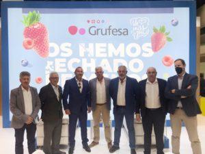 Grufesa regresa a Fruit Attraction para reforzar sus valores e imagen de marca