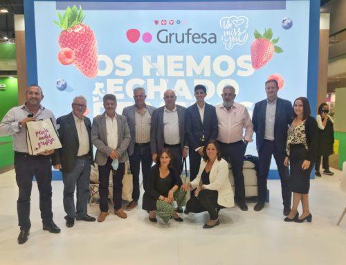 Grufesa regresa de Fruit Attraction fortalecida en sus relaciones comerciales gracias al refuerzo de su imagen de marca y su modelo de trabajo